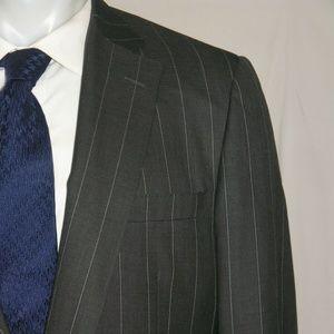 Paul Stuart Super 120 Cashmere Blend Custom Suit